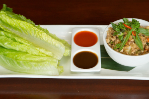 Chicken Lettuce Wrap - delivery menu