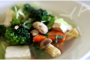 Tofu and Vegetable Soup - delivery menu