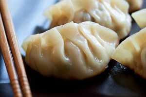 6 piece Steamed Gyoza - delivery menu