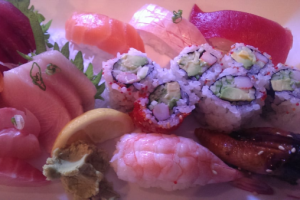 Sushi Sashimi Combo - delivery menu
