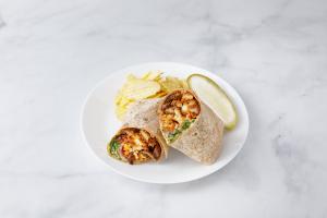 Crispy Chicken Cutlet Wrap - delivery menu