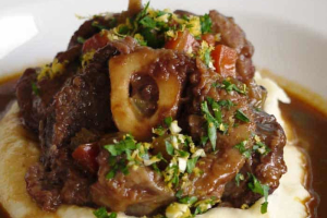 Lamb Osso Buco for 2 - delivery menu