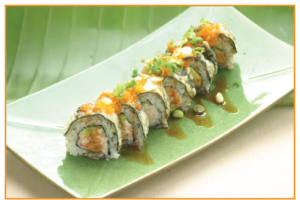 Tempura California Roll - delivery menu