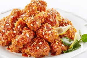Sauce Mixed Fried Chicken 양념치킨 - delivery menu