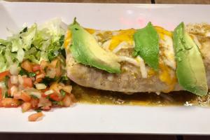 Pork Chili Verde Burrito - delivery menu