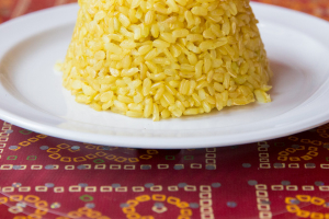 Aromatic Brown Basmati Rice - delivery menu