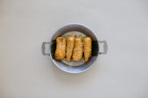 Fried Banana with Honey - delivery menu