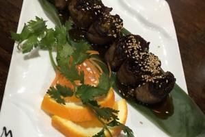 L8. Beef Negimaki Lunch - delivery menu