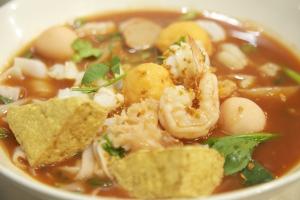 88. Yen Ta Fo Soup - delivery menu