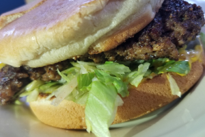 Hamburger - delivery menu