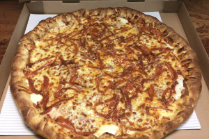 3. Crispy Pepperoni Lovers Pizza - delivery menu