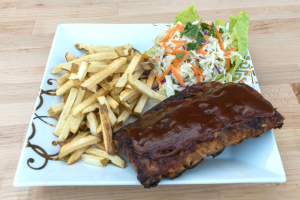 Half Rack BBQ Ribs - delivery menu
