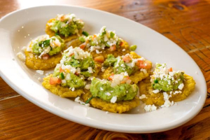 Tostones a La Mexicana - delivery menu