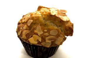 Almond Poppy Muffin - delivery menu