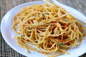 8. Cold Noodles with Sesame Sauce - delivery menu