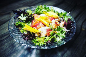 Spicy Sashimi Salad - delivery menu