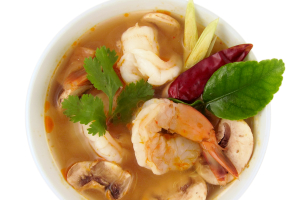 Cup of Tom Yum Soup - delivery menu