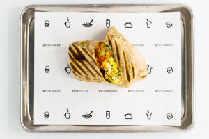 BK6. El Mero Mero Wrap - delivery menu