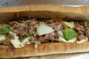Philly Cheesesteak Sandwich - delivery menu
