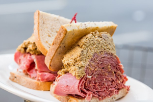 13. Corned Beef and Chopped Liver Sandwich - delivery menu