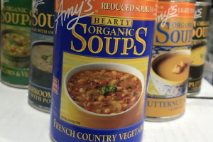 Amy's Organic Soups - delivery menu
