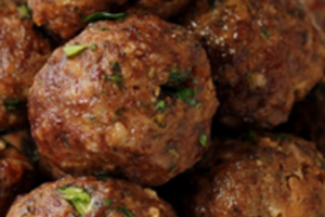 Side of 3 Pieces of Meatballs - delivery menu