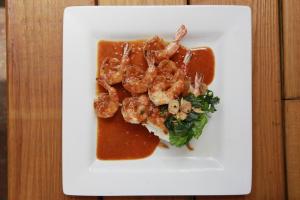 Panang Grilled Shrimp Dinner - delivery menu