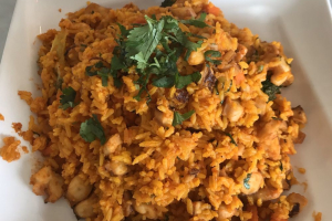 Spanish Rice with Octopus - delivery menu