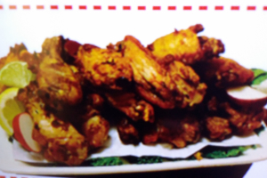 A. Mixed Wings, Arms and Drumsticks Oven Baked Chicken - delivery menu