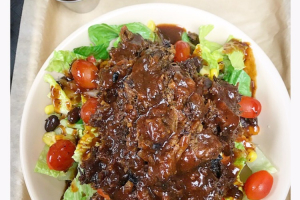 Burnt End Salad - delivery menu