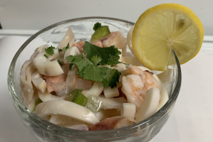 51A. Seafood Ceviche - delivery menu