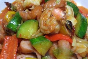 Shrimp and Scallop Bokkeum - delivery menu