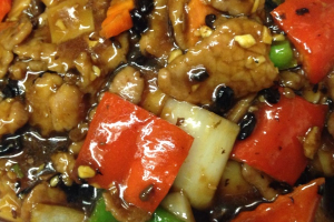 821. Beef with Black Bean Sauce Chow Fun - delivery menu