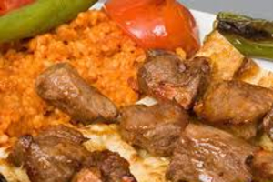 Lamb Shish Plate - delivery menu