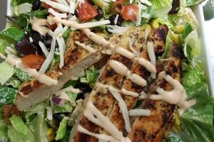 Southwest Chicken Salad Lunch - delivery menu
