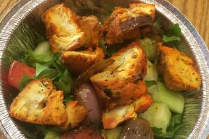 10. Chicken Tikka Salad - delivery menu