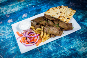 Traditional Gyro Platter - delivery menu