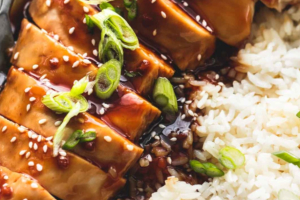 Teriyaki Chicken - delivery menu