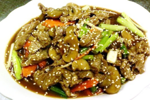 Mongolian Beef - delivery menu