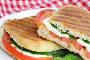 8. Fresh Mozzarella Panini - delivery menu