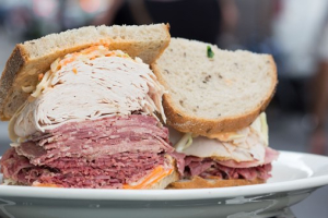 8. Fresh Roasted Turkey, Corned Beef and Tongue Sandwich - delivery menu