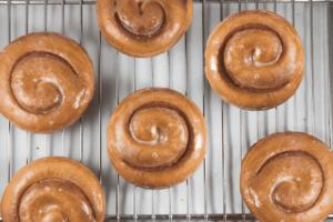 Cinnamon Roll - delivery menu
