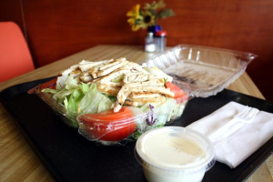 Fresh Charbroiled Chicken Salad - delivery menu
