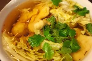 Wonton Soup - delivery menu