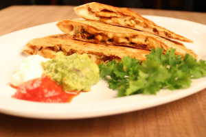 Q6. Chimi Chicken Quesadilla - delivery menu