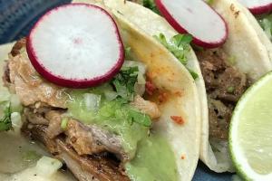 Carnitas Tacos - delivery menu