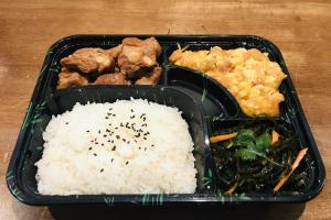 G. Tomato w. Egg+ Braised Pork Rib + Seaweed Salad - delivery menu
