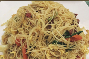 137. Singapore Style Rice Noodles - delivery menu