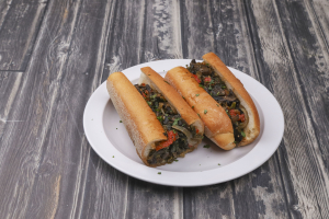 Hot Italian Veggie Sub - delivery menu