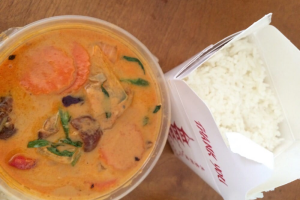 C6. Roasted Duck Curry - delivery menu